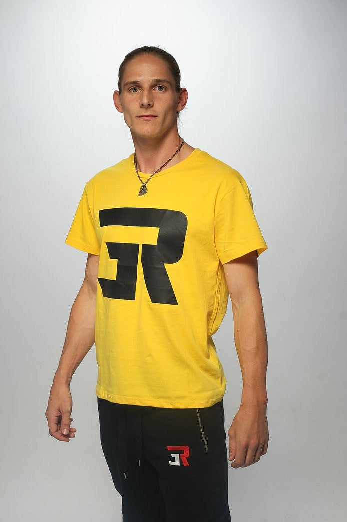 3Run Logo Yellow - 3run Clothing | Parkour | Free Running | Tricking | Acrobatics