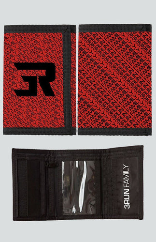 3Run Logo Zipper wallet - 3run Clothing | Parkour | Free Running | Tricking | Acrobatics