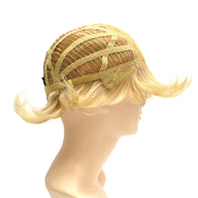 200 Savvy - Machine Tied Wig construction side