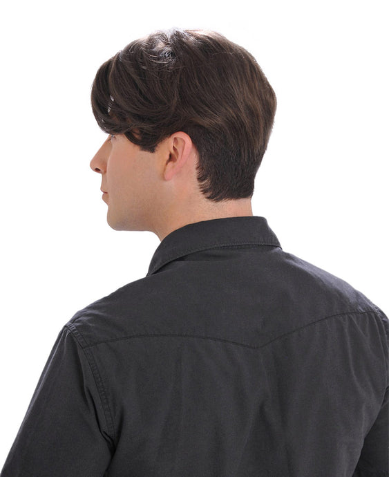 402 Men's System H by WIGPRO: Mono-Top Human Hair Topper