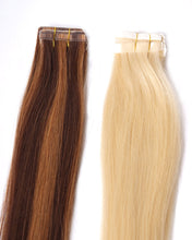 "488C Tape-On 14"": Human Hair Extensions"