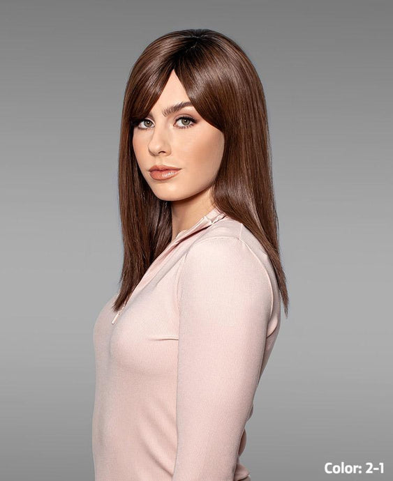 101 Adelle Hand-Tied Mono-top - Human Hair Wig