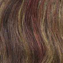 4/6/8/33 - Darkest Brown blended with medium and light chestnut brown and dark auburn