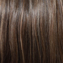 Rocky Road - Chestnut Brown base highlighted  Ash Blonde