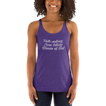 Woman of God Women's Racerback Tank