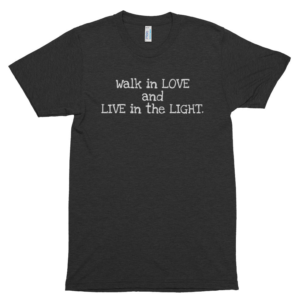 Walk in Love Short sleeve soft t-shirt