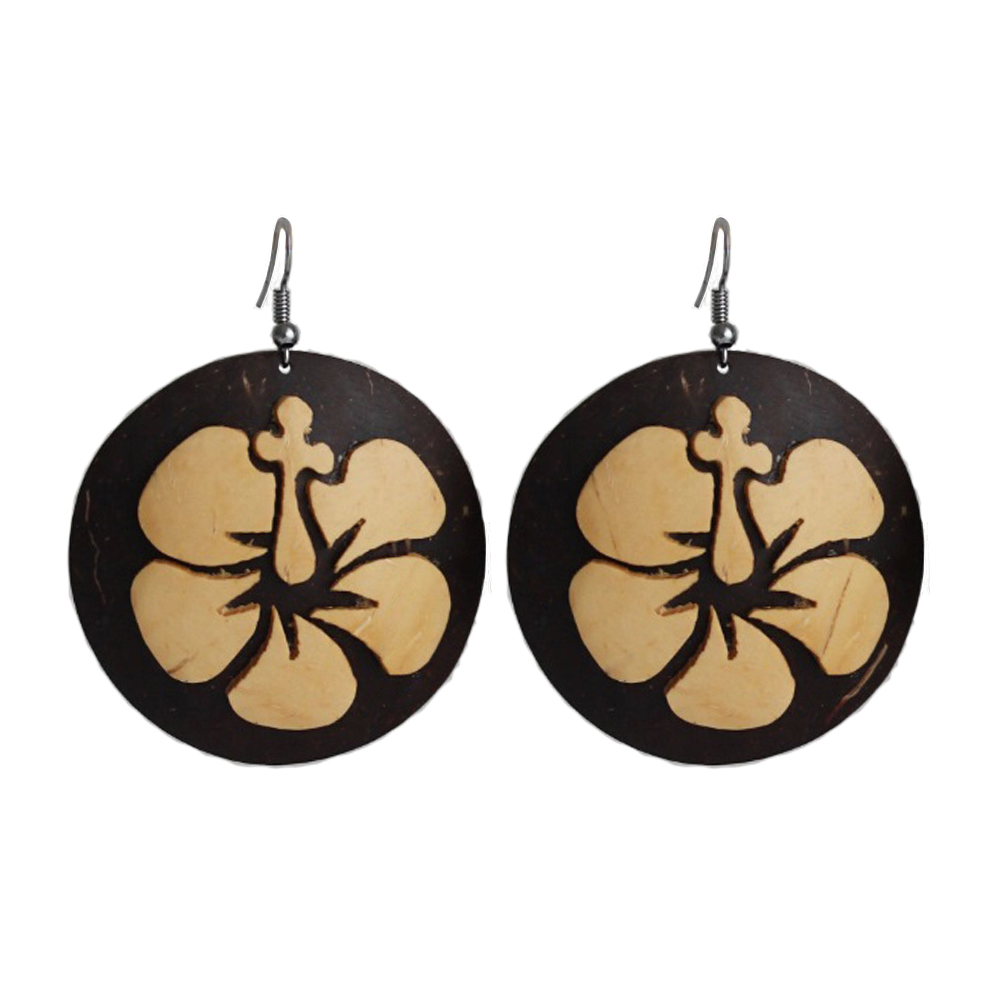"Coconut Earrings ""Aute"""