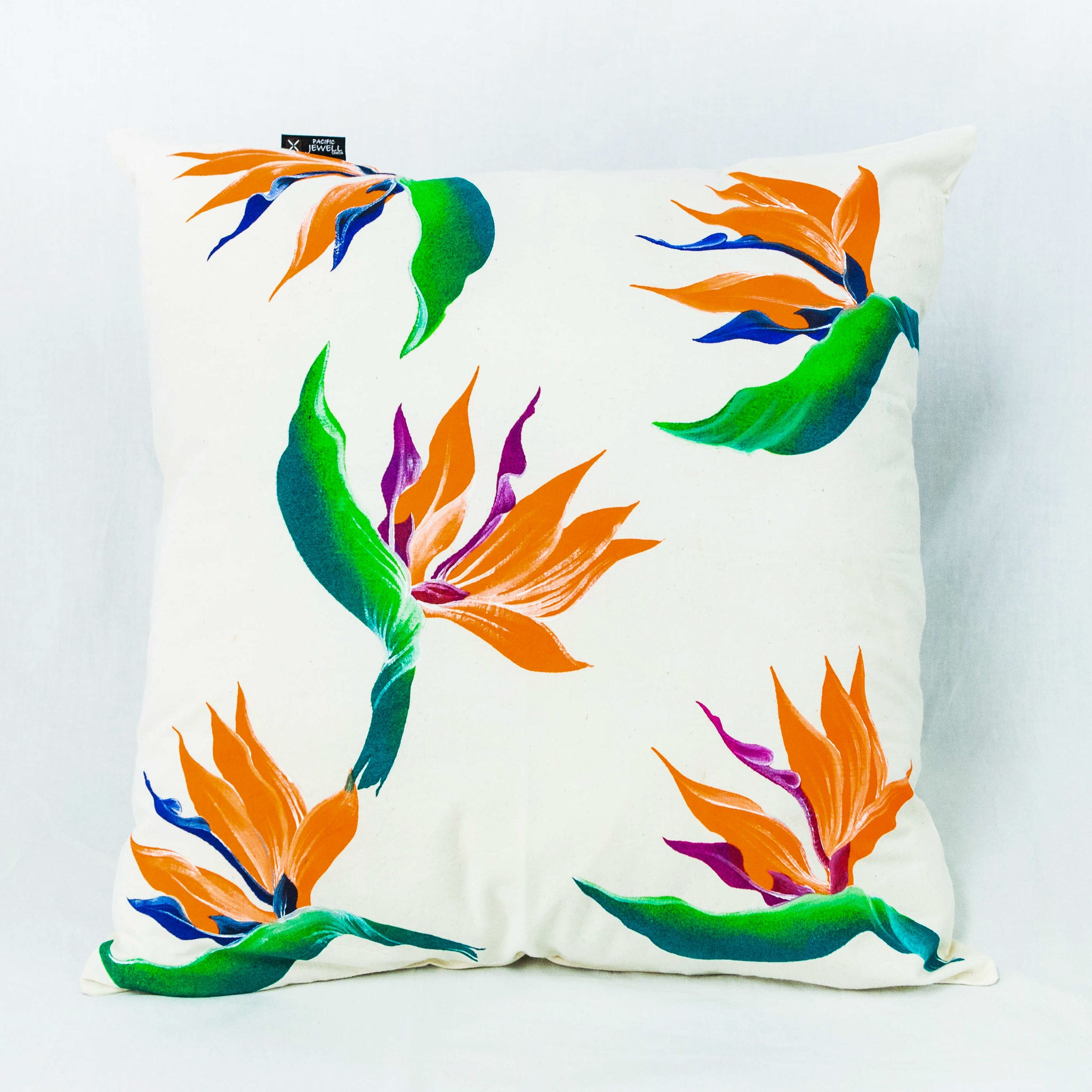 "Cushion Cover ""Birds of Paradise"""