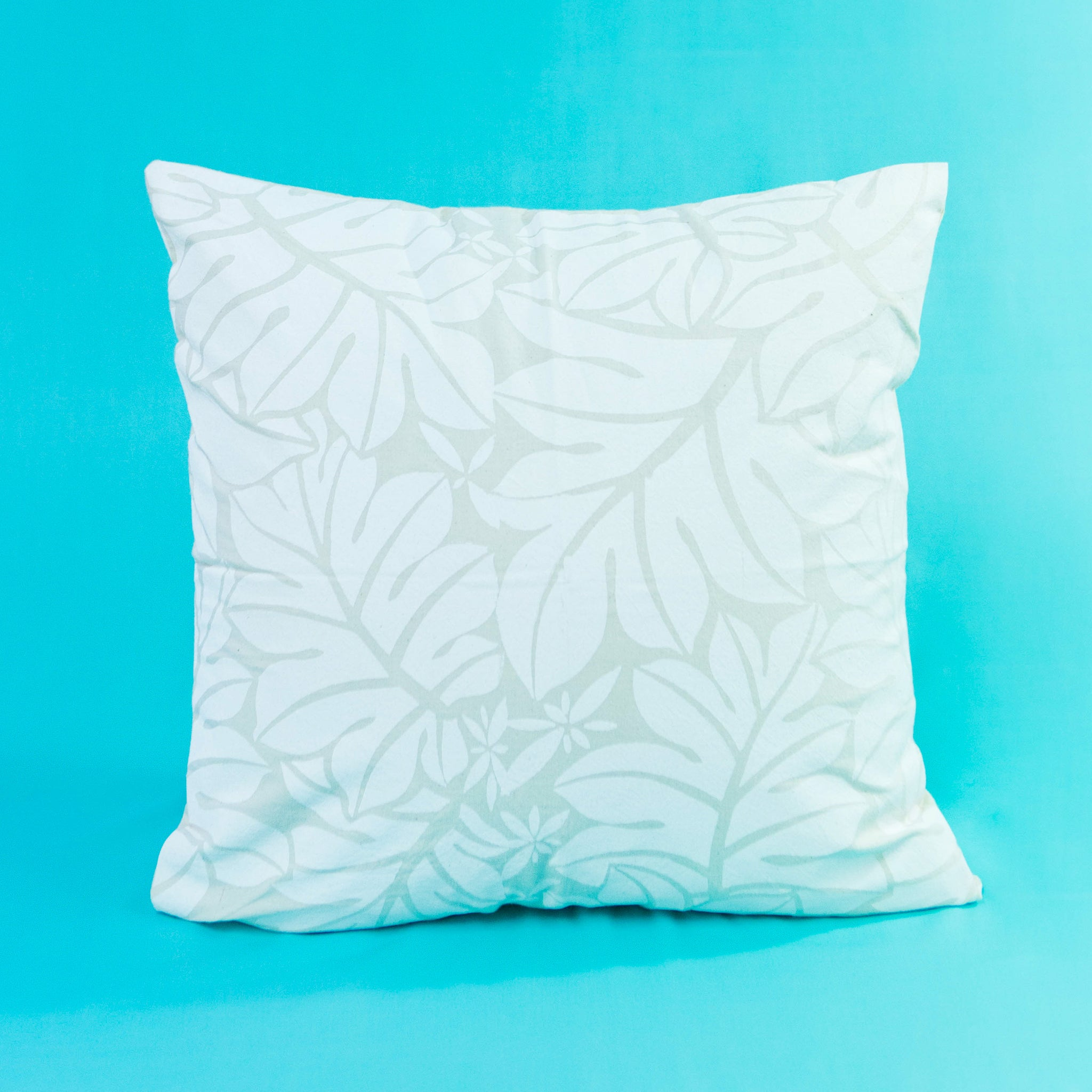 "Cushion Cover ""Breadfruit Leaves"""