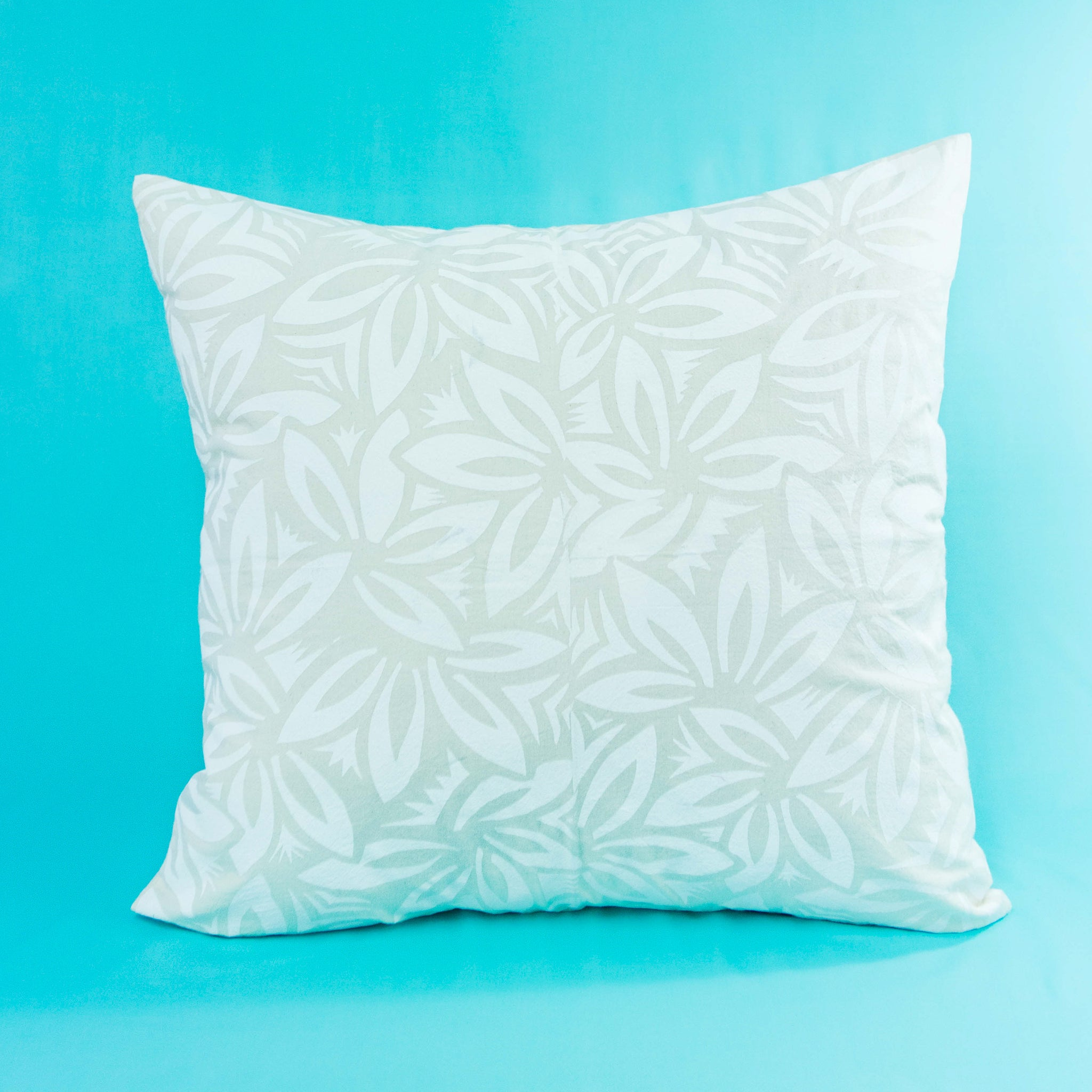 "Cushion Cover ""Fanned Leaves"""