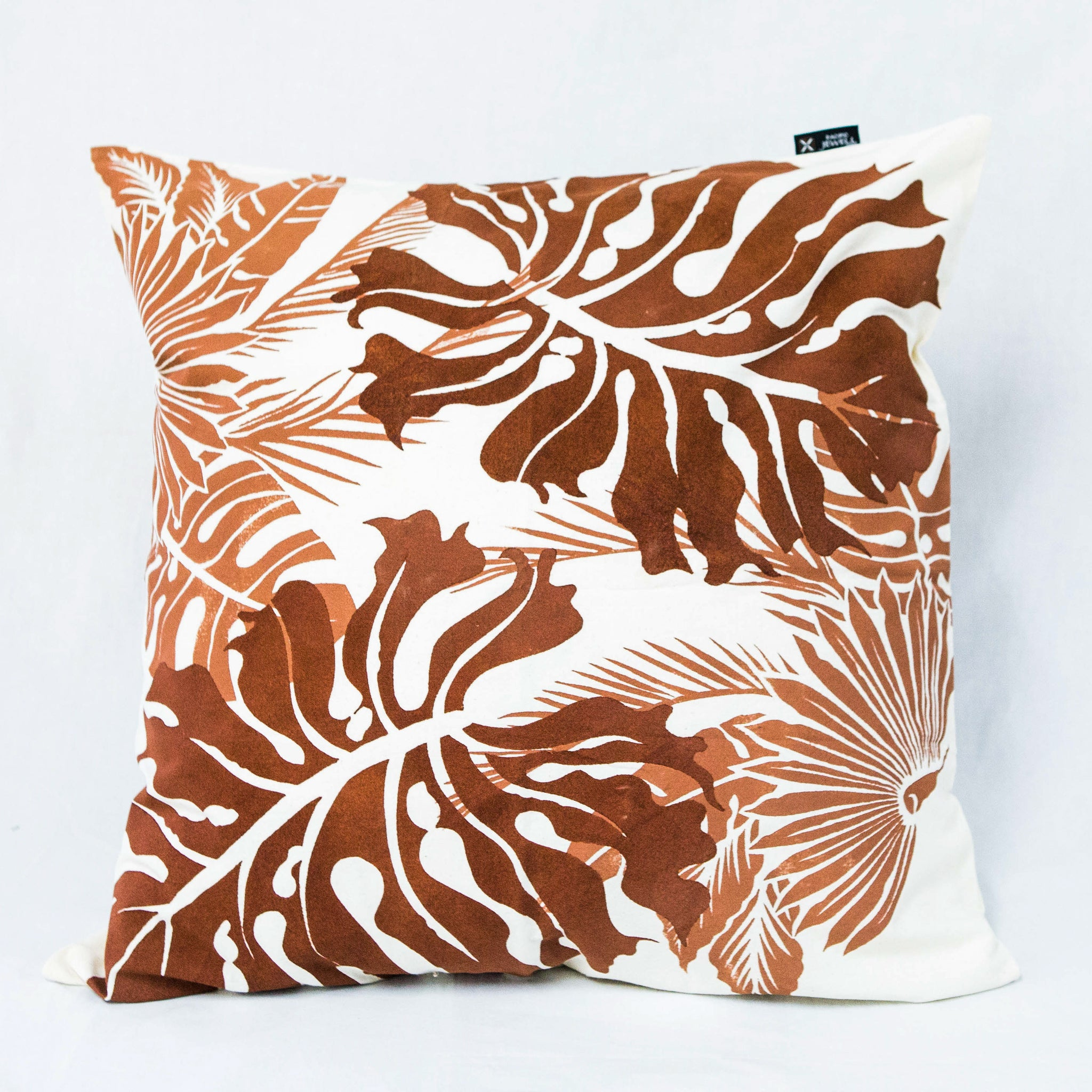 "Cushion Cover ""Local Leaves"""