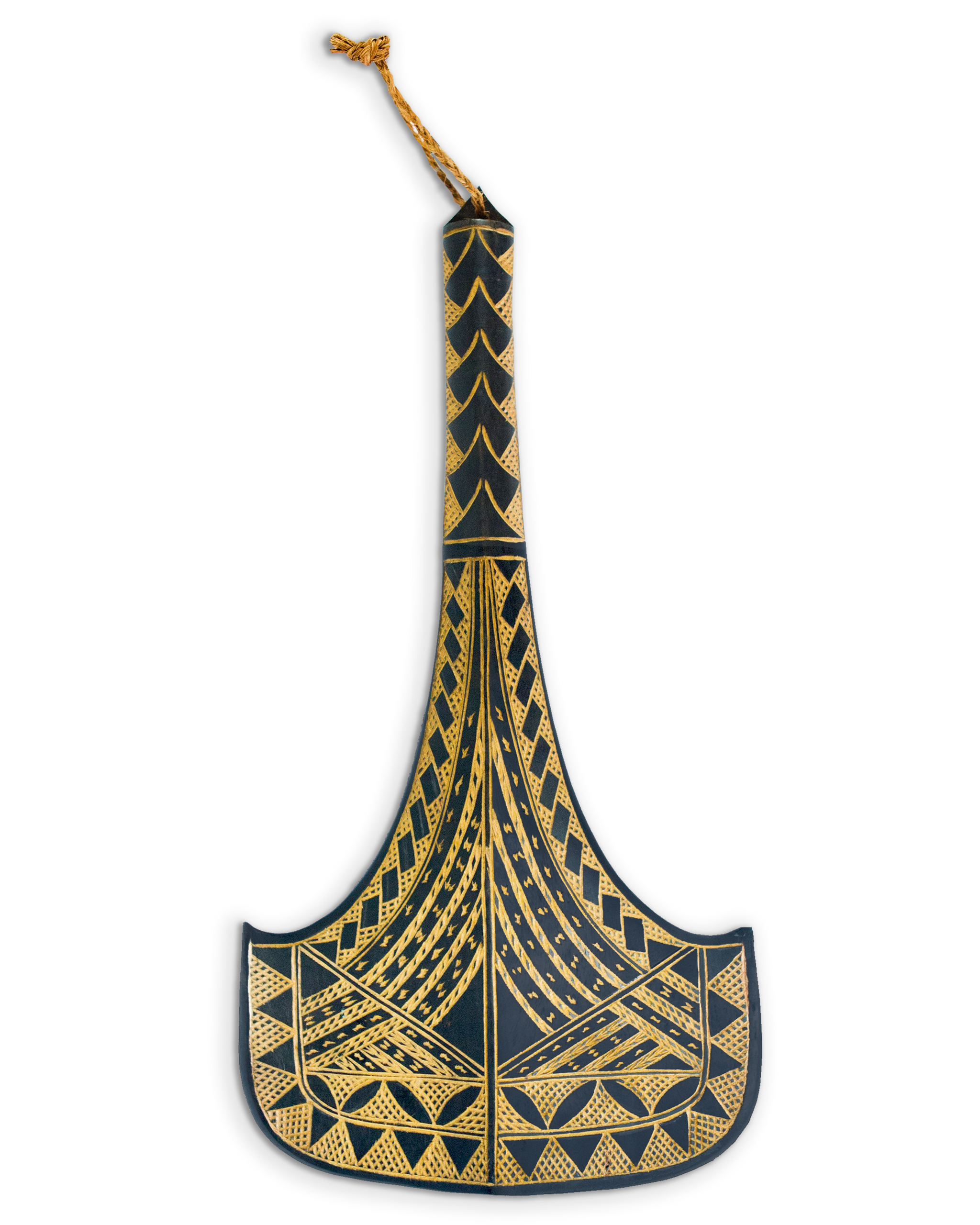 "Traditional War Club ""Faalautaliga"""