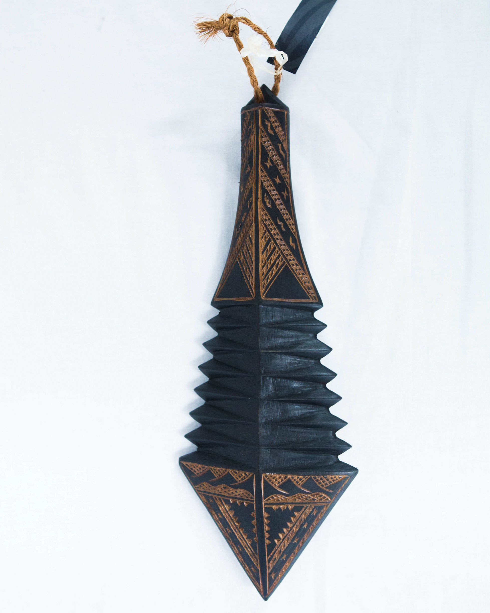 "Traditional War Club ""Faalaufai"""
