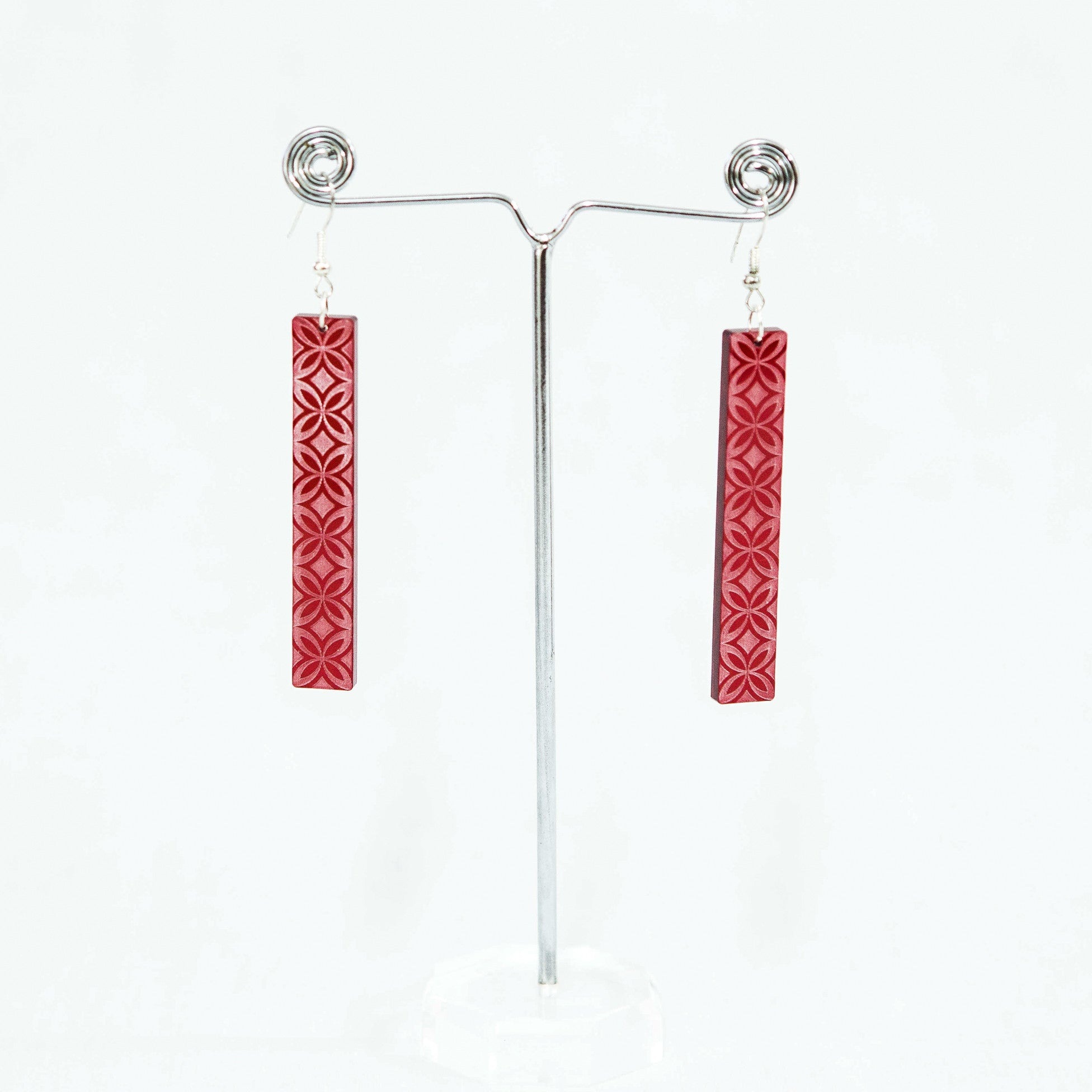 "Resin Upeti Earrings ""Siapo"""