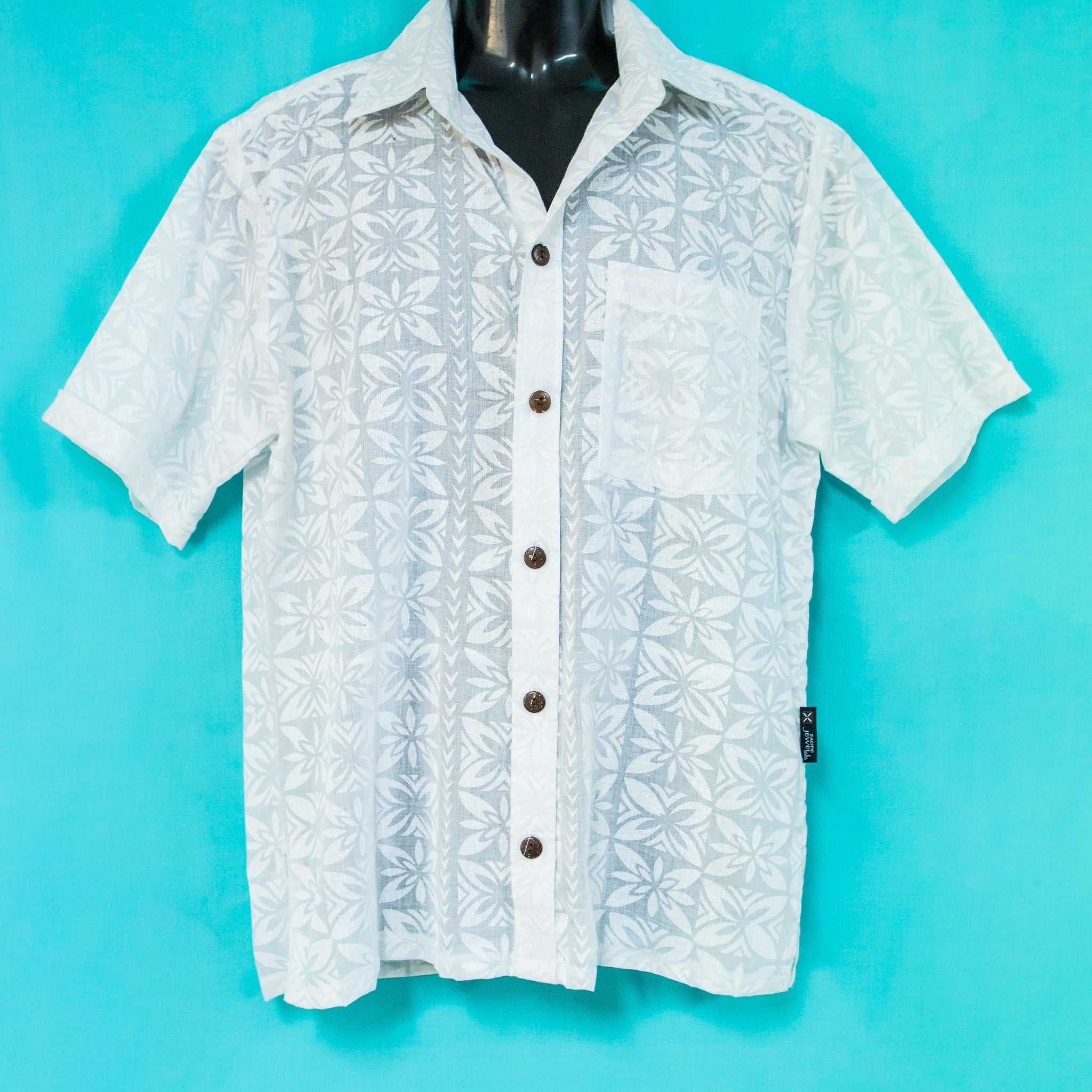 "Mens Shirt ""Pacific Print"""