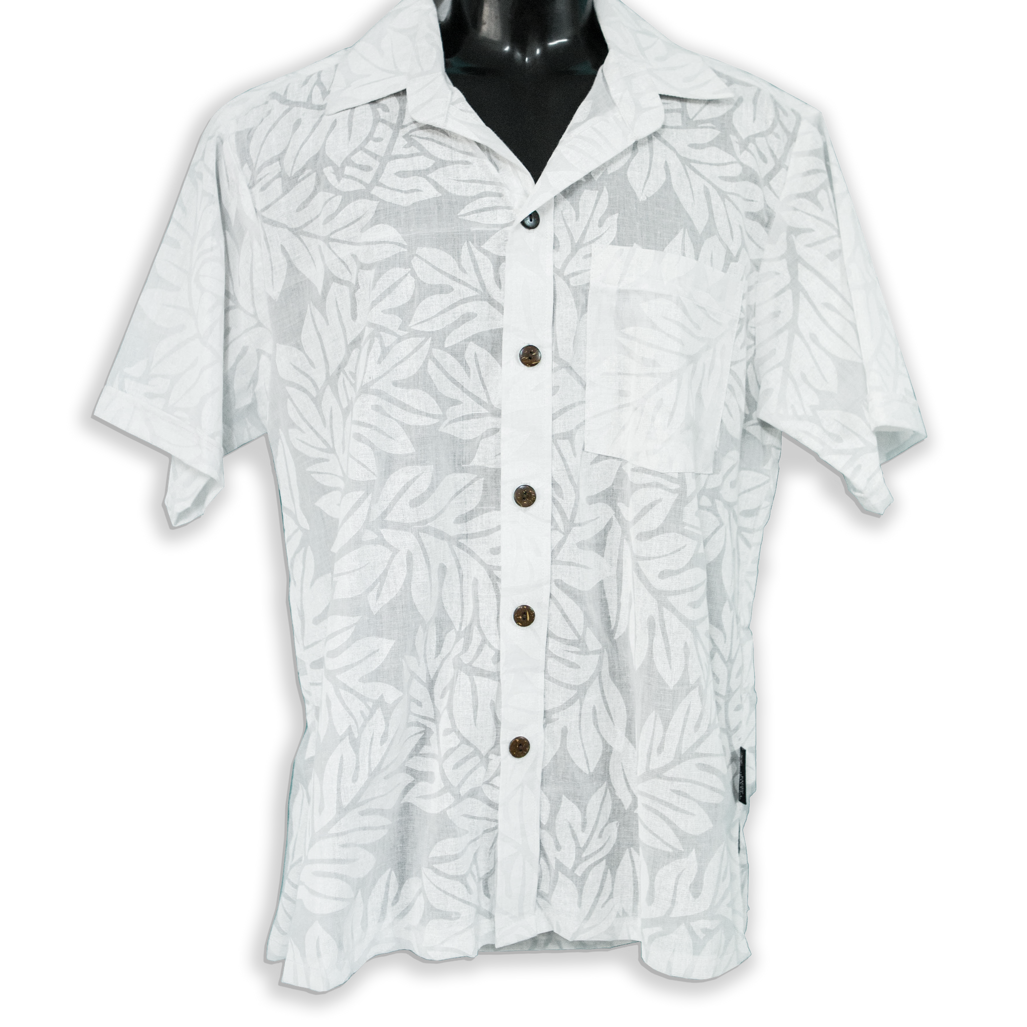 "Mens Shirt ""Breadfruit Leaves"""