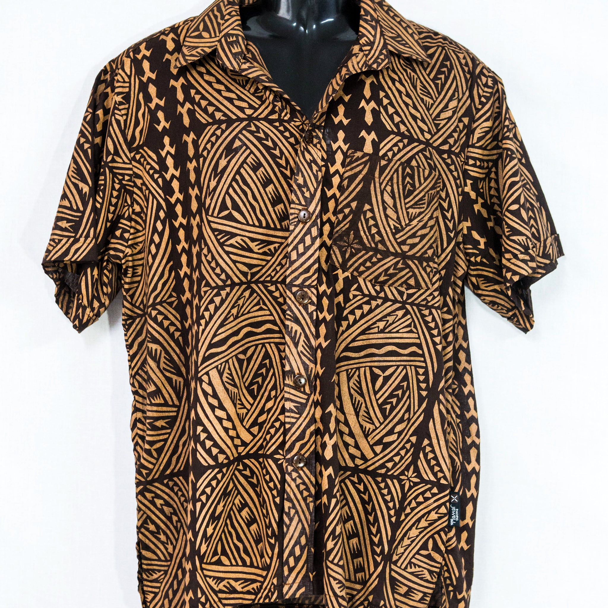"Mens Shirt ""Elaborate Pattern"""