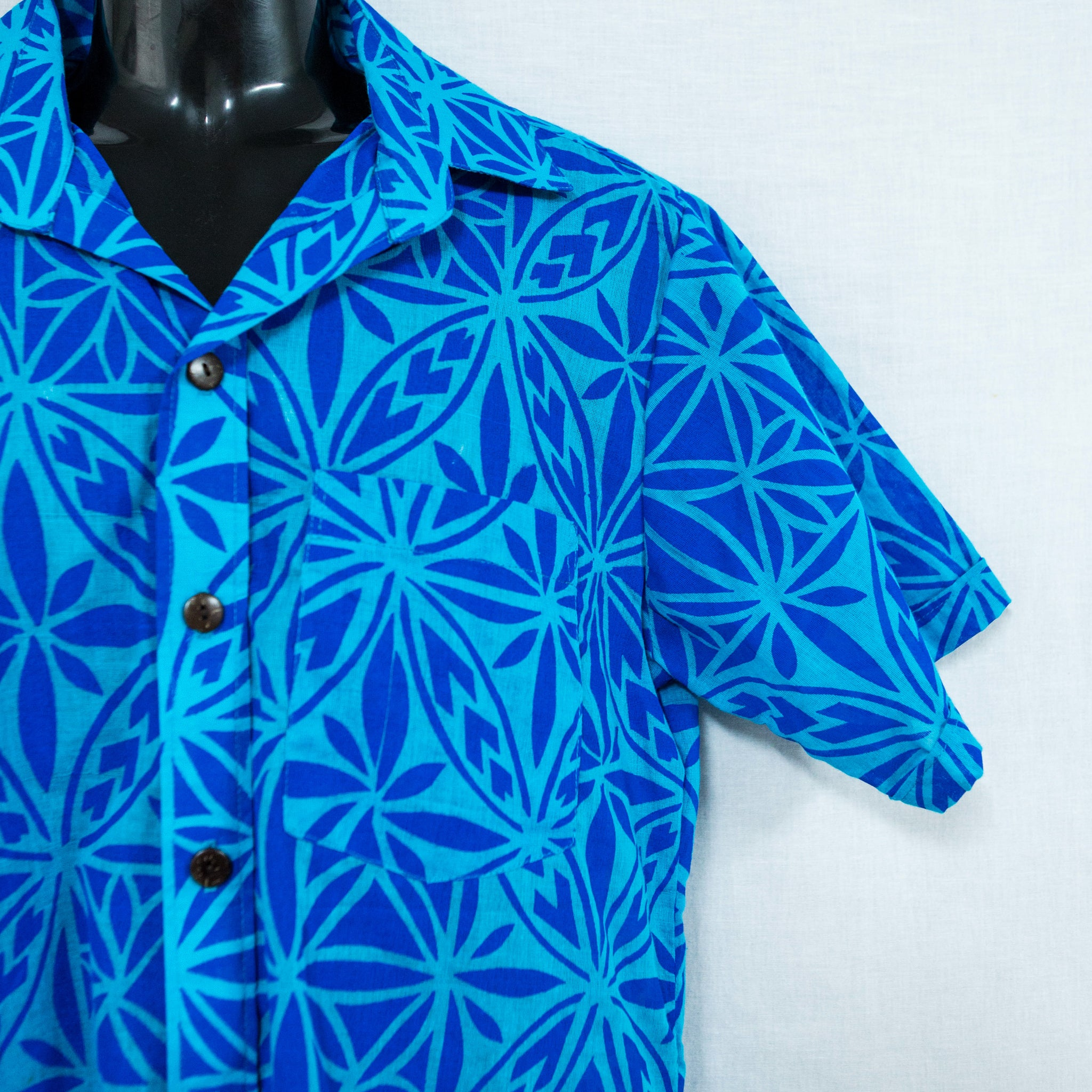 "Mens Shirt ""Mosaic Tapa"""