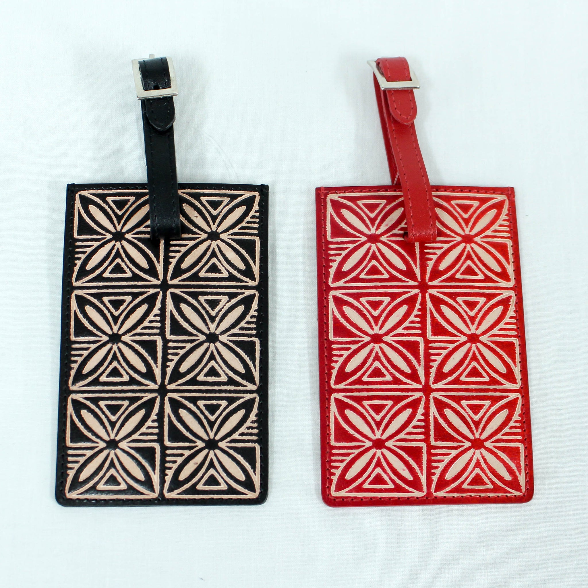 Leather Siapo Luggage Tag