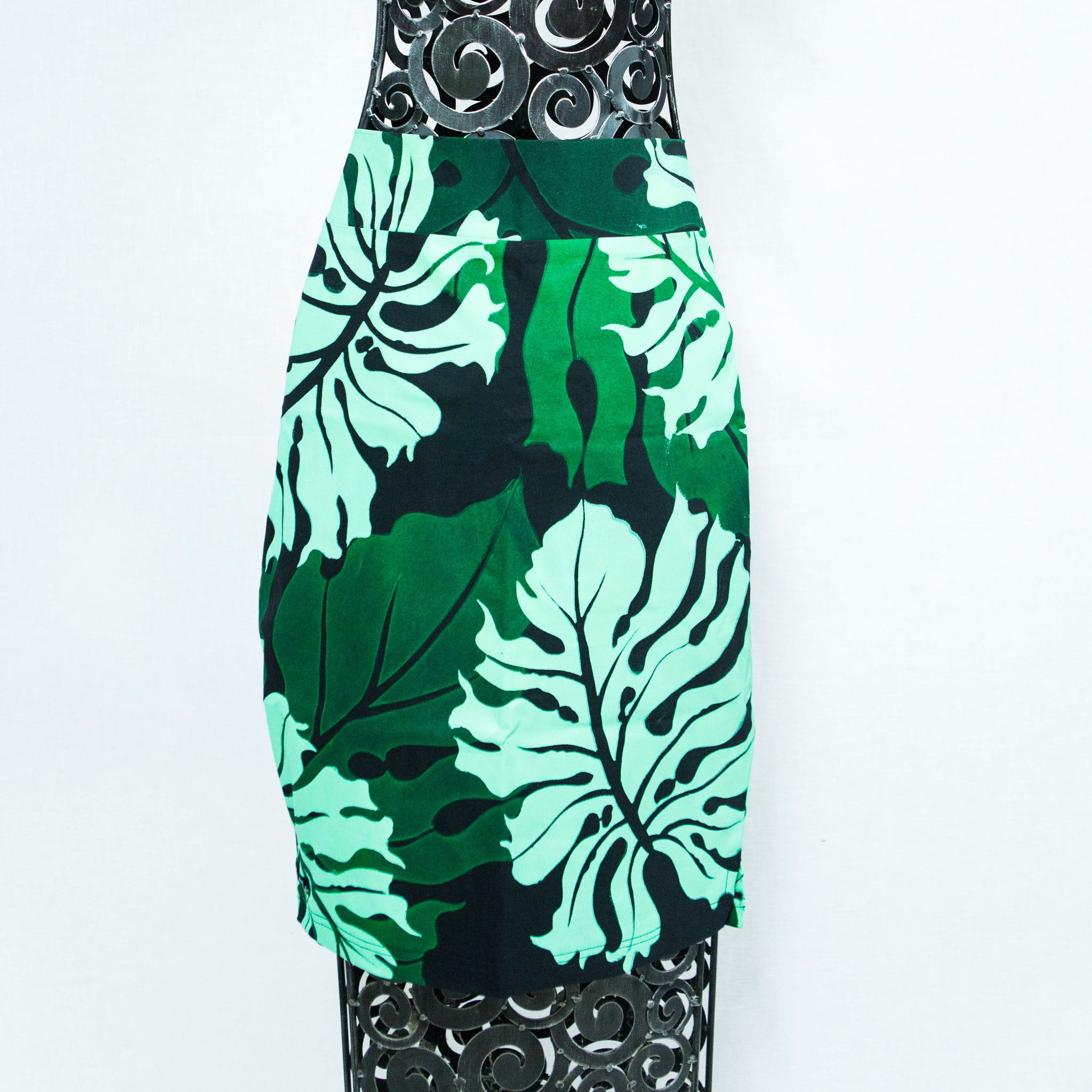 "Pencil Skirt ""Local Leaves"""