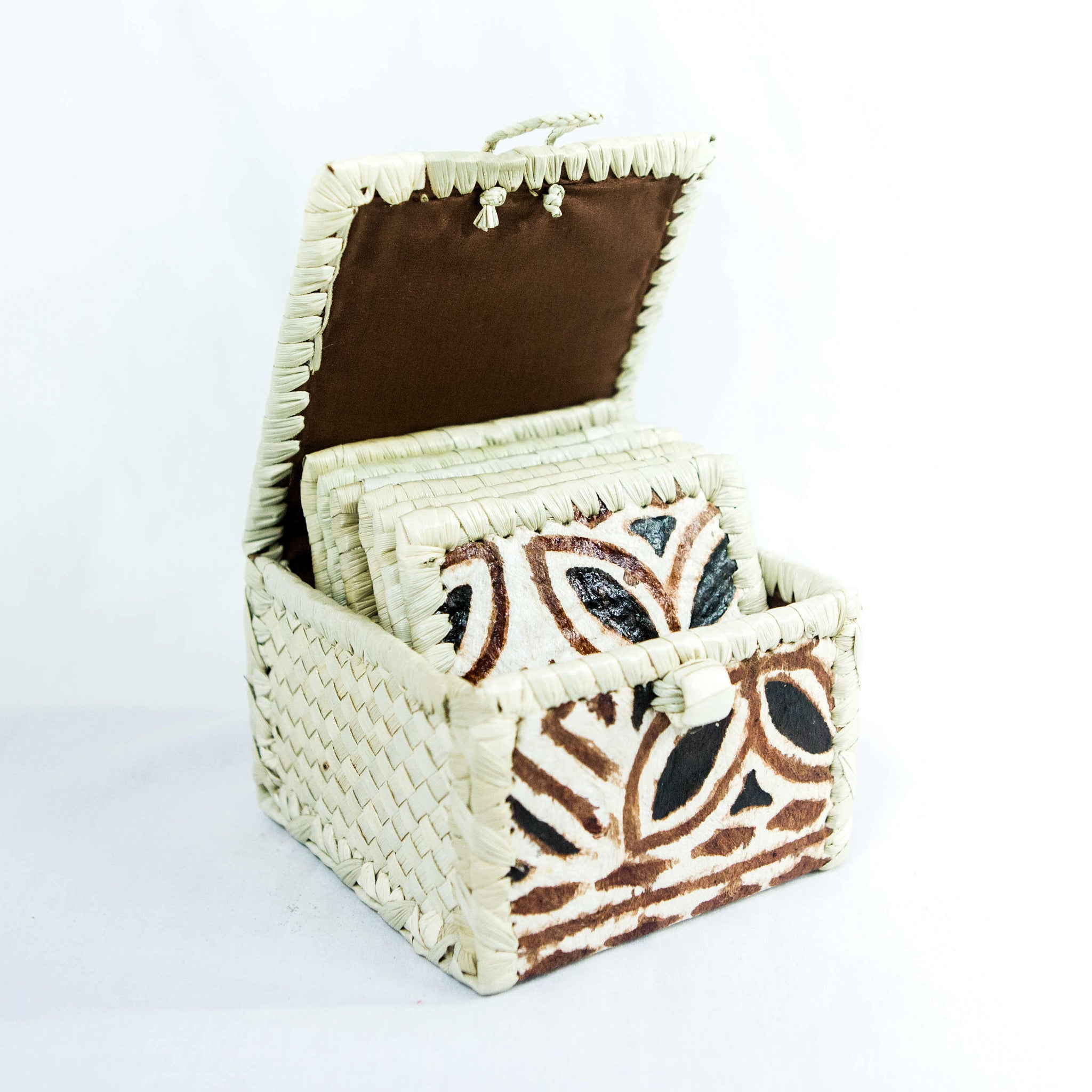 Coaster Box Set with Lid - Siapo
