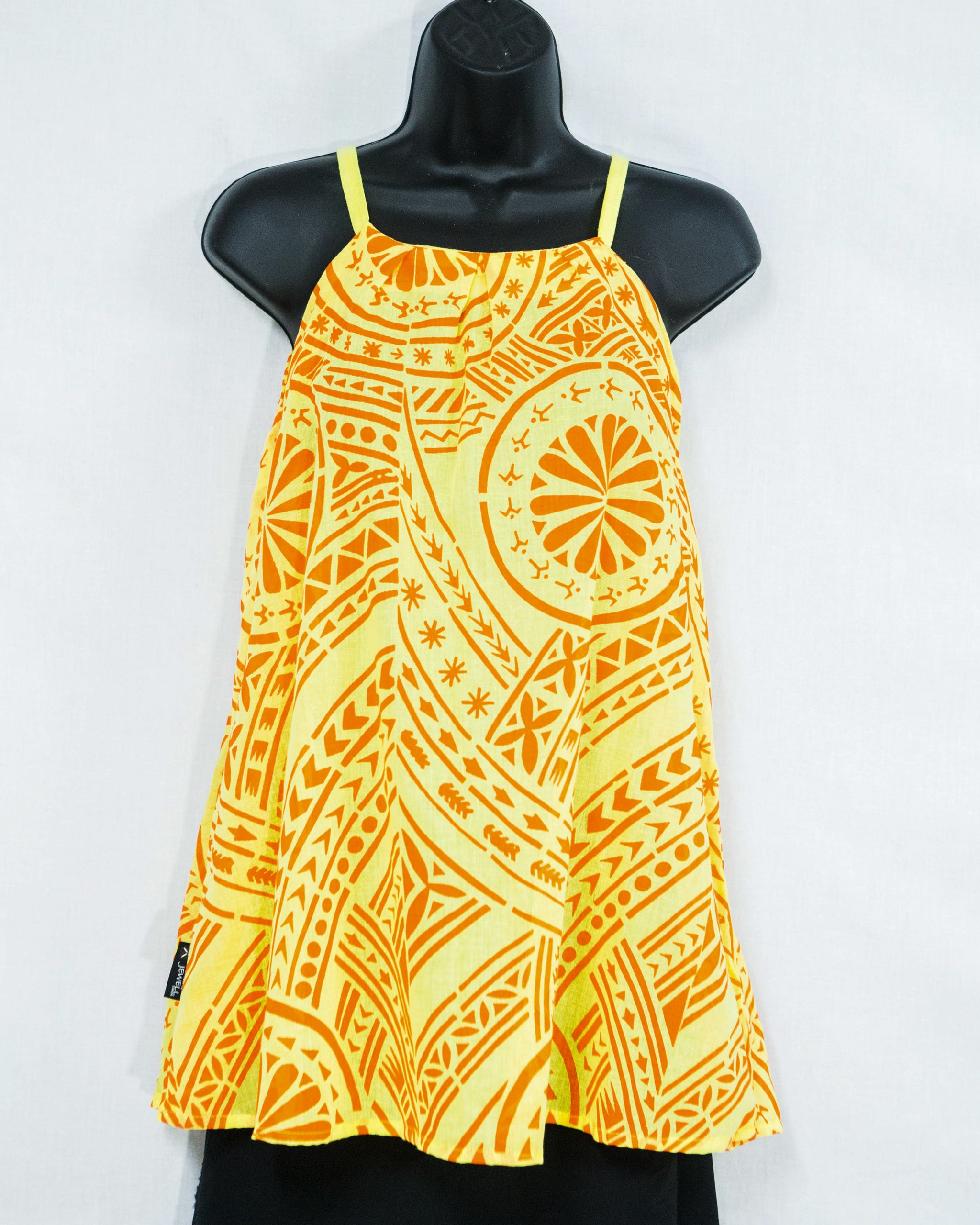 "High Neck Woman's Top ""Tatau"""