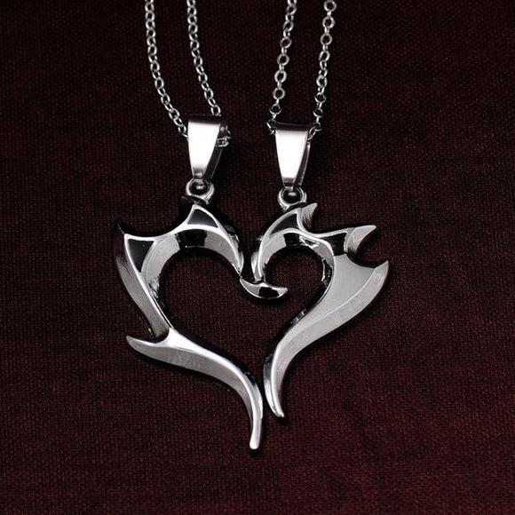 Hooked On You Matching Couples Necklace