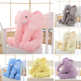 Colorful Baby Elephant Plush - Straight Up Fun