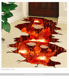 The Floor is Lava Floor Decal - Straight Up Fun