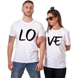 Lo Ve Couple Tee - Straight Up Fun