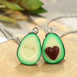 AvoHeartDo Matching Couples Necklace