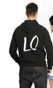 Lo Ve Matching Couples Hoodie