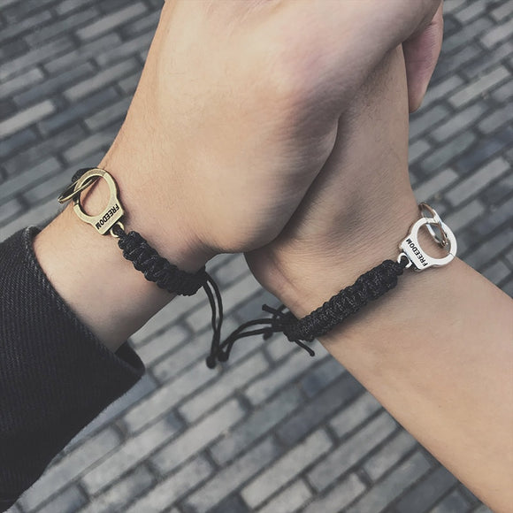 Cuffed With You Matching Couples Bracelet