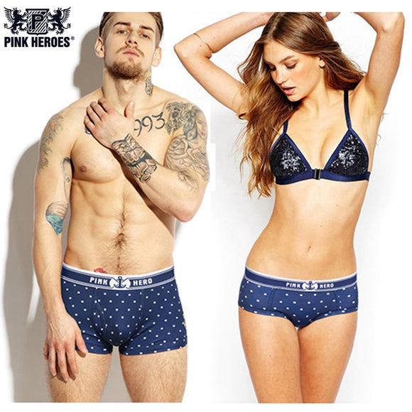 Assorted Couples Underwear Simple Design