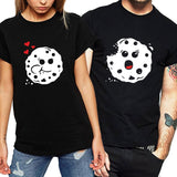 Cookie Lovers Matching Couple Tee