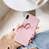 Mini Dragon Couples iPhone Case