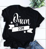 King & Queen of 2019 Matching Couples Tee