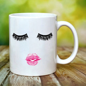 Beautiful Mug With Makeup - Straight Up Fun