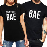 Bae & Owner of Bae Matching Couple Tees