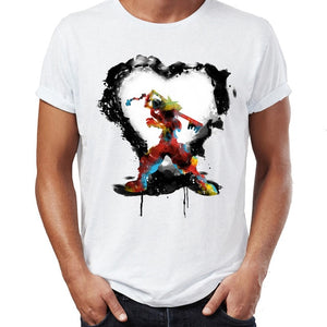 King Hearts Watercolor T Shirt