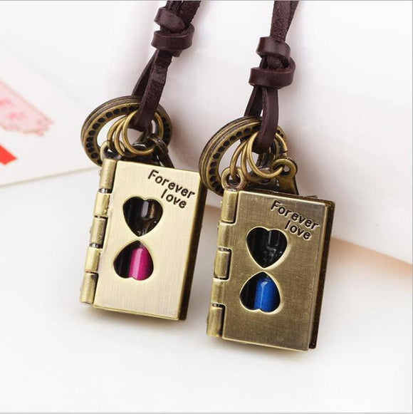 Timeless Love Matching Couples Necklace