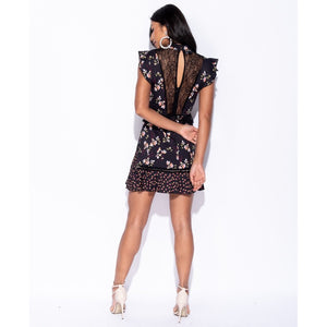 Load image into Gallery viewer, Rina Floral Printed Dress