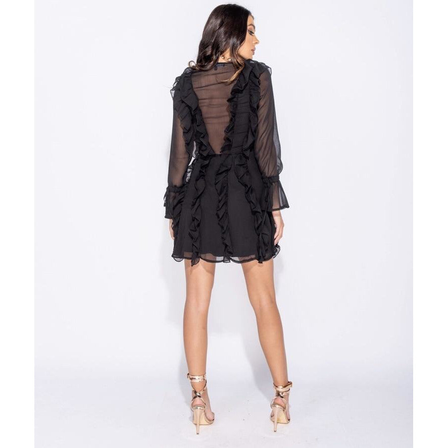 Load image into Gallery viewer, Tiana Frill Dress