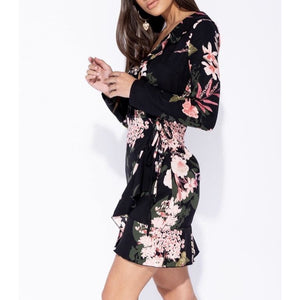 Noa Floral Wrap Dress