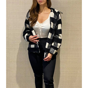 HARLEY PLAID SHIRT- JACKET