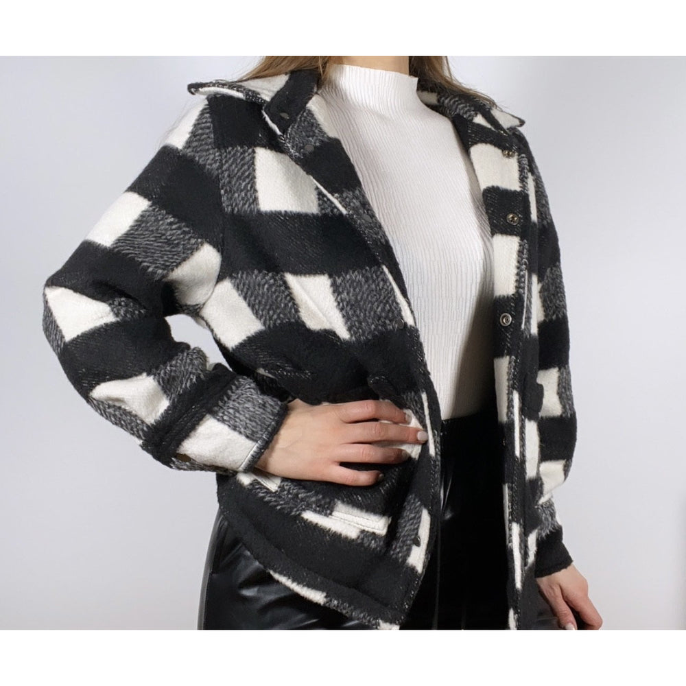 Load image into Gallery viewer, HARLEY PLAID SHIRT- JACKET