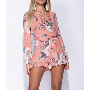 Follina Floral Playsuit