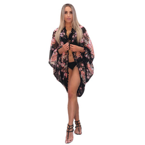 Mia Floral Print Shrug x Sandi Collection