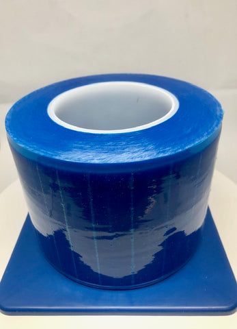 "PLASDENT Barrier Film Blue 4"" x 6"" Roll of 1,200 Sheets Per Box"