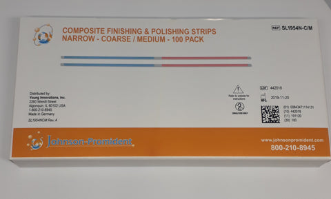 Composite Finishing Strips-C/M  NARROW WIDTH WITH GAP